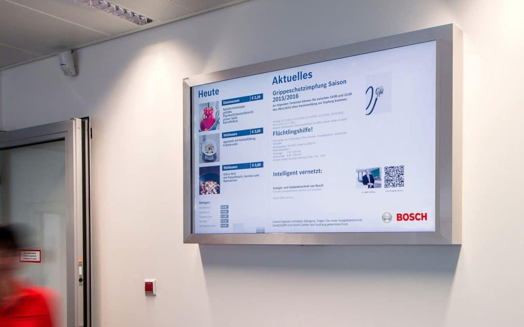 Mitarbeiterinformation bei Bosch Thermotechnik