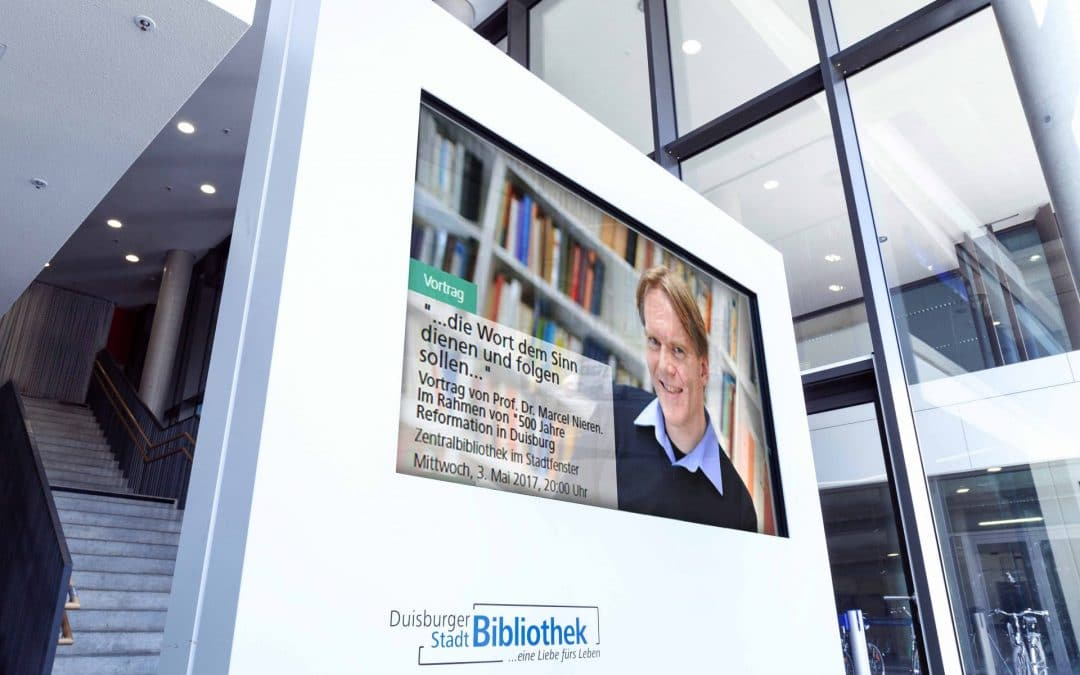 Interactive orientation for city libraries