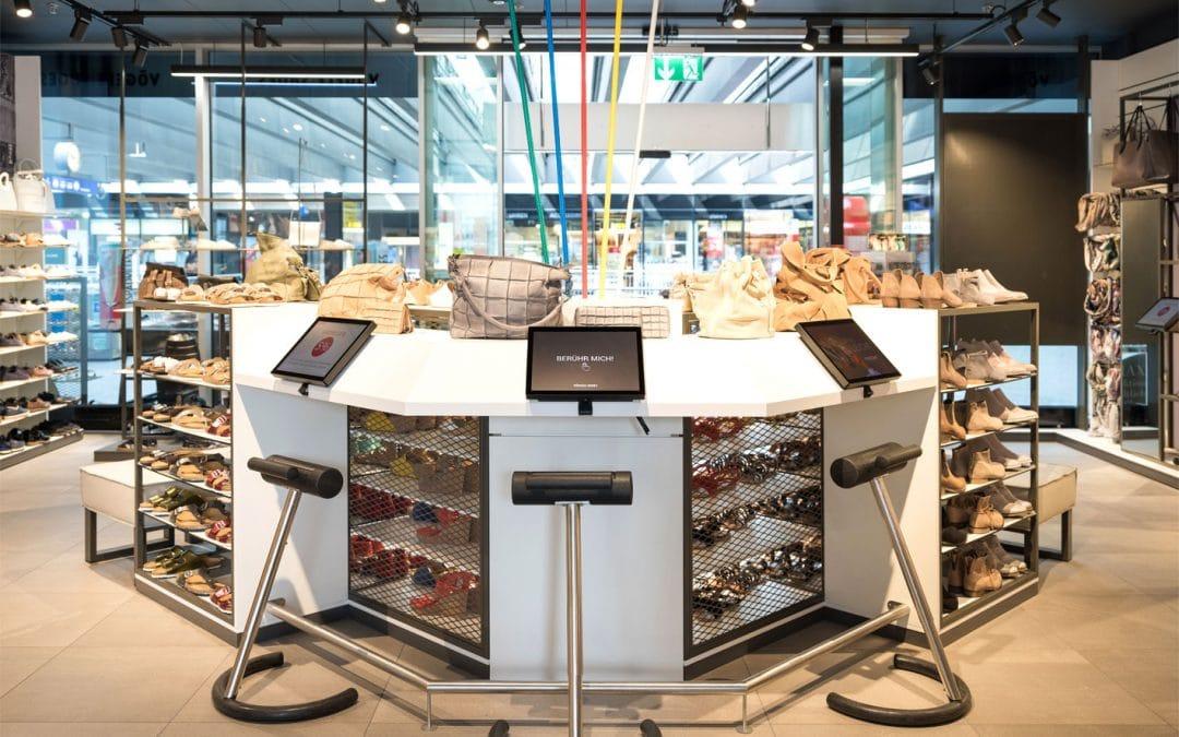 Neues Einkaufserlebnis in den Filialen von Vögele Shoes