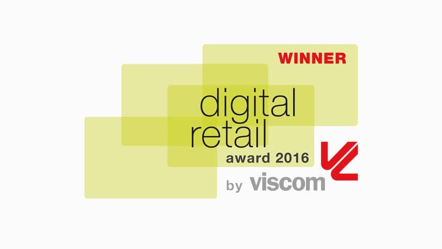 netvico ist Gewinner des Digital Retail Award 2016!